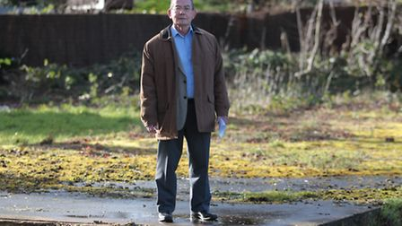 Alan Lowe, chairman of Hitchin Sunday League Football, says NHDC are delaying the building of a pavi