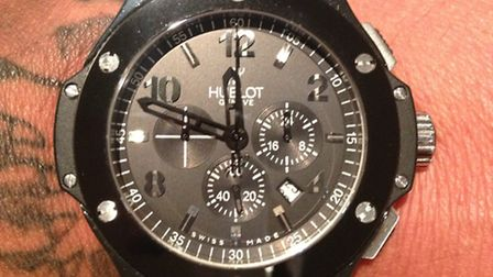 A watch stolen from a house in Cotswold Drive, Stevenage