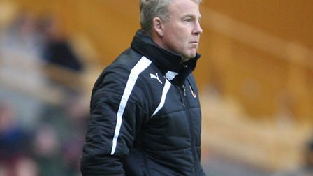 Wolves manager Kenny Jackett. Photo: Kevin Coleman