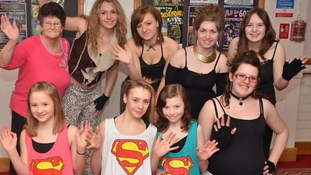 Auditionees at the Stevenage Has Got Talent competition. Picture by Alan Millard.