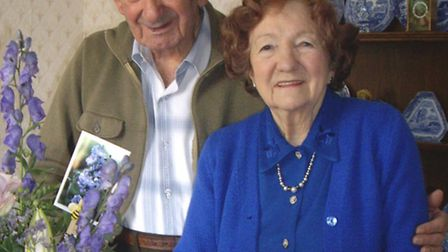 William and Joy Laurence will celebrate 70 years as a married couple