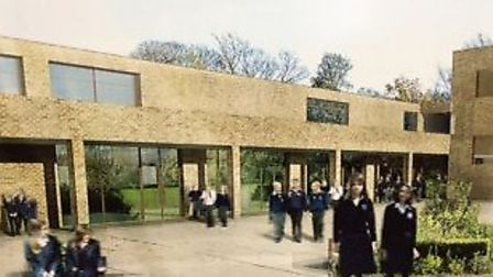 An artist's impression of how the new school would have looked