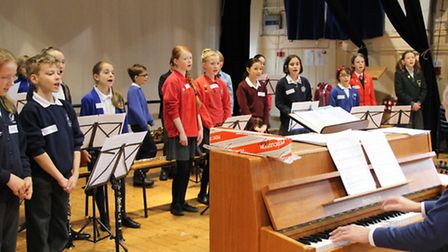 More than 20 children took part in the Able and Talented Musicians' Day, which was hosted at Dame Br