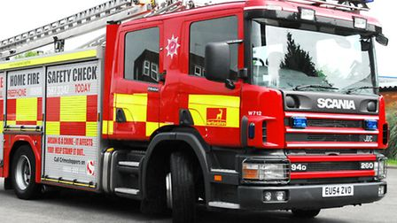 Firefighters were called to a house fire in Letchworth GC this morning (Saturday).