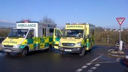 There was a three-car collision at the junction of Graveley Road and North Road in Graveley last Tue