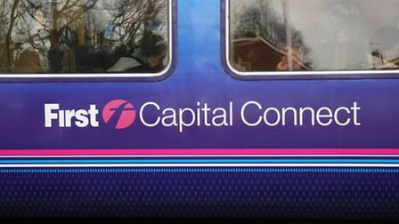 There are delays to trains between Hitchin and Cambridge after a vehicle crashed into a bridge.