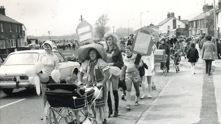 Walsworth Festival in 1975. Pic by Janet Walker Collection