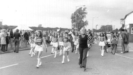 Walsworth School of Dance in 1974. Pic by Janet Walker Collection