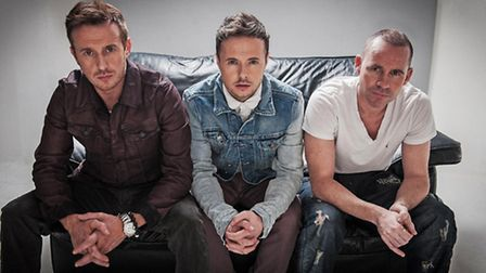 Boy band 911 is set to play Stevenage