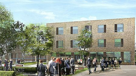 An artist's impression of how the new school could look