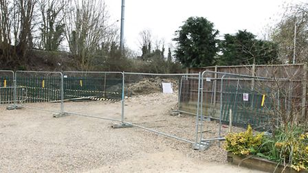 21 trees in a conservation area had to be cut down in the Settlement's carpark on Nevells Road in or