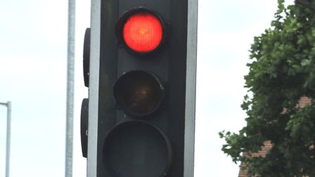 The lights on the A505 Willian Way near the Norton Way South, Letchworth GC have not been working pr
