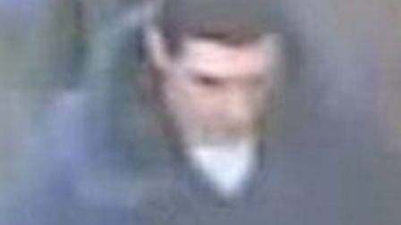 Police have released an image of this man in connection with the theft of a phone from O2 in Hitchin