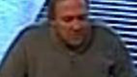 Police wish to speak to this man in relation to a theft in Waitrose in Hitchin