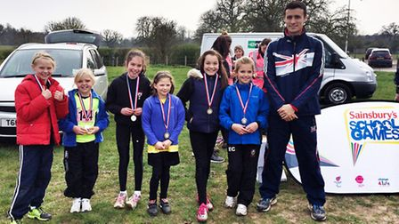 A Year 5 girls team from StThomas More Primary School, in Saffron Walden, just missed out on top spo