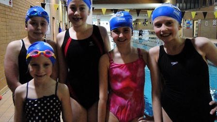 Swimathon at Lord Butler Fitness & Leisure Centre.