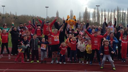 Fairlands Valley Spartans hosted an event at Ridlins End running track in Stevenage