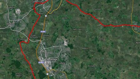 The Women's Tour route map will pass through Letchworth GC and Baldock before skirting around Steven