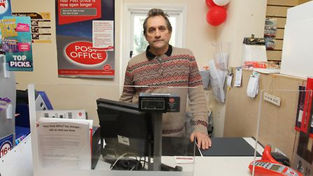 Robert Middleton was sitting behind in the Post Office at 4pm on Friday (April 11) when a masked gu