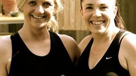 Jo Baillie-Smith and Fiona Layzell will walk from London to Brighton for charity.