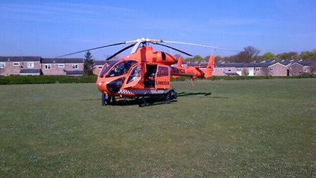 An 11-year-old boy has been hospitalised after a crash