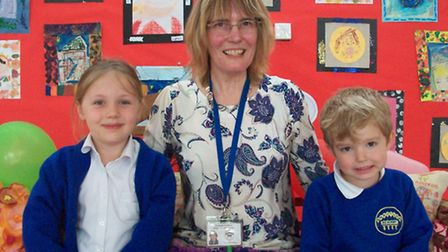 Long-serving teaching assistant Sally Harrison has retired after 20 years at RA Butler Academy.
