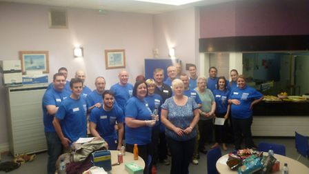 The Tesco team help give the Oval Community Centre a makeover