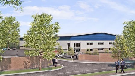 Plans to build a 90,000 sq ft industrial estate have been submitted by St Modwen, a regeneration fir