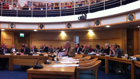 More than 100 residents turned out to see whether councillors would approve the Local Plan.