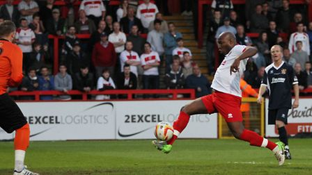 Barry Hayles was back at the Lamex last year for a charity match in memory of Mitchell Cole