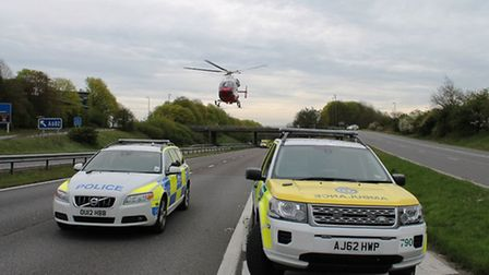 The man killed on the A1(M) has been named