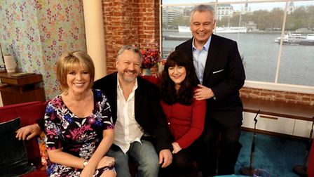 Helen and Pete Meissner with Eamonn Holmes and Ruth Langsford