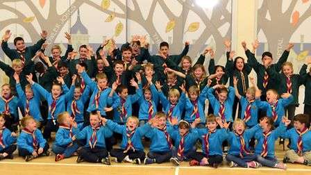 The 1st Fairfield Park Scout group are the first to be set up in Comet country in 34 years