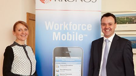 Global IT company Kronos, based in Codicote, invited Stephen McPartland, Member of Parliament for St