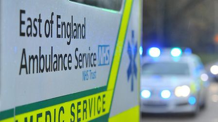 A woman was taken to Lister Hospital in Stevenage with minor injuries