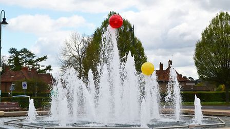 Mario Borza's art installation on the central fountain in Letchworth GC has caused much debate