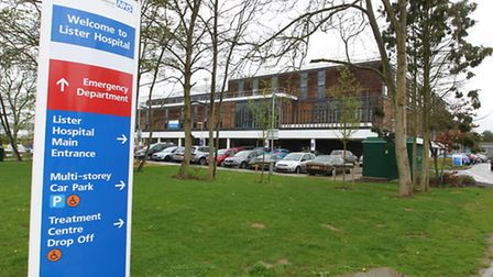 One in four staff working for the East and North Herts NHS trust - which runs Lister Hospital in St