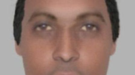 An e-fit of the man believed to be a courier involved in Essex telephone scams