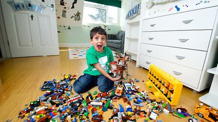 Knebworth schoolboy Milun Simpson has won a competition to design his dream Lego Star Wars bedroom