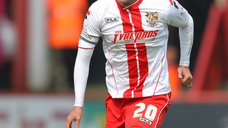Jimmy Smith in action for Stevenage
