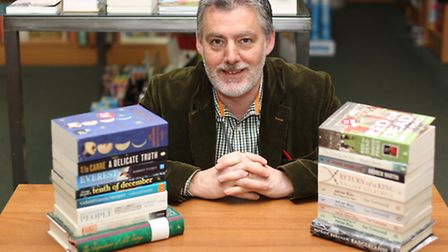 Paul Wallace, owner of David's Book Shop