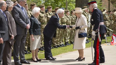 HM The Queen's visit to Felsted School. Pictures: Katalin Karolyi