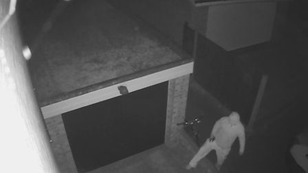 Police want to speak to this man about incidents in Bawdsey Close