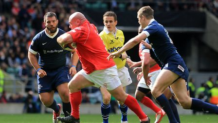 Army v Navy rugby game 2014.
