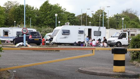 Travellers Site in Letchworth