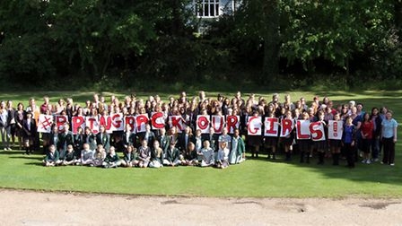 Friends' School Year 7 girls took action to support the missing school girls in Nigeria.