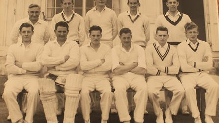 Cyril Hammond, 2nd along from left, front row