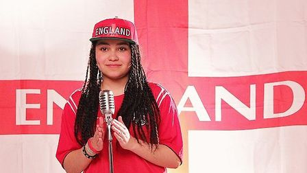 Gabz is releasing Holiday in Brazil as England head to the country in June for the 2014 FIFA World C