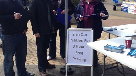 Stevenage MP Stephen McPartland's petition on parking has been discussed this week