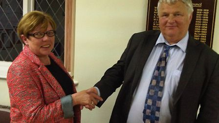 Cllr Maureen Caton has taken over as chairman of Stansted Mountfitchet Parish Council from Geoffrey